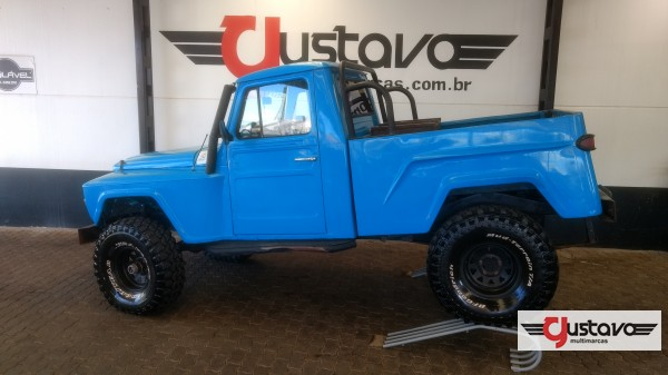 Gustavo Multimarcas-LAGOA-VERMELHA-OFF-ROAD-FORD-F-75-1974-R$ 35.000,00