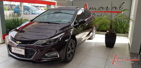 CRUZE LTZ 2 HATCH 1.4 TURBO COMPLETO TOP TETO SOLAR PARK ASSIST 4.500 KM | - 2018